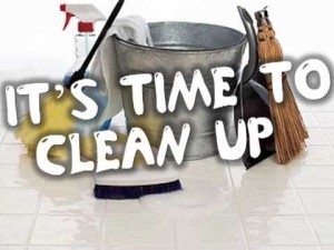 Commercial Cleaning for an Office Clean-out